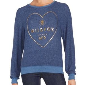 Wildfox Love Potion No 9 Sweater Blue Size S